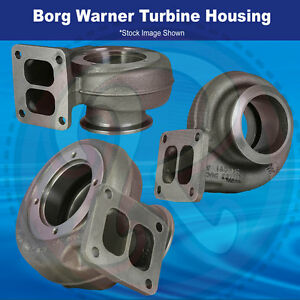 Borg Warner Turbine Housing For 76mm Wheel 0 91 A R Twin Scroll T4 Inlet