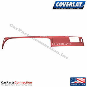 Coverlay Dash Board Cover Red 12 307 rd For Thunderbird Front Upper