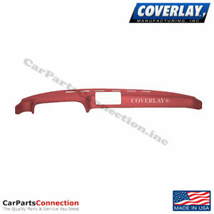 Coverlay Dash Board Cover Red 20 924 Rd For Porsche Front Upper