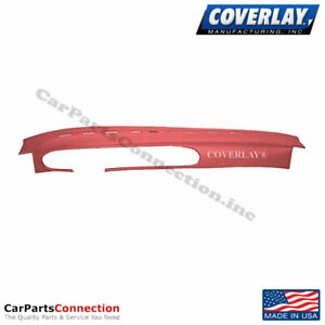 Coverlay Dash Board Cover Red 20 944 Rd For Porsche 944 Front Upper