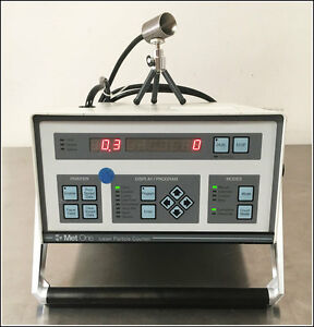 Met One Laser Particle Counter Model 2408a