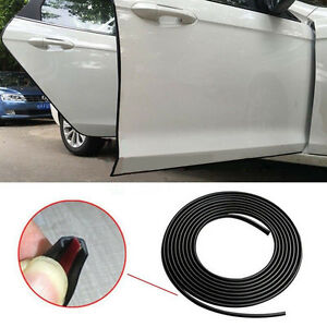 32ft 10m Car Door Edge Lip Strip Guard Protector Moulding Trim Anti Dent Diy