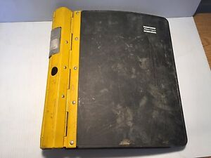 Atlas Copco Roc L8 Hydraulic Track Drill Maintenance Operators Manual