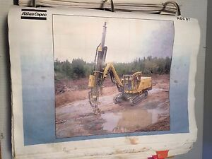 Atlas Copco Roc D7 Hydraulic Track Drill Training Operation Manual