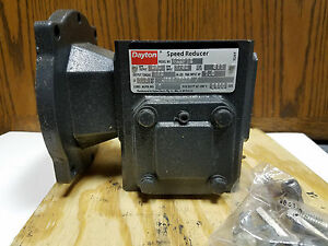 Dayton 4z291e Speed Reducer 5 1 Ratio Gear Box