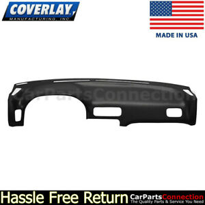 Coverlay Dash Board Cover Black 10 890 Blk For Datsun 240sx