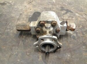 Michigan 85iiia Wheel Loader Gear Pump On Upper Left Of Torque Converter