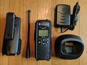 Refurbished Motorola Dtr550 Digital 900mhz Two Way Radio