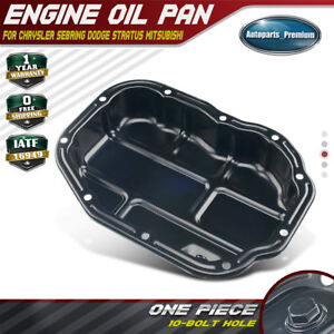 New Engine Oil Pan For 1999 05 Chrysler Sebring Dodge Mitsubishi Eclipse 264 229
