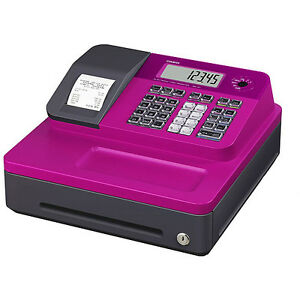 Casio Seg1sc Thermal Print Cash Register Pink