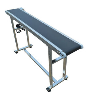 110v Electric Power Slider Bed Pvc Belted Conveyor Special Price With Top grade