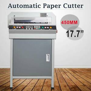 18 Electric 450mm Paper Cutter Digital Cutting Machine