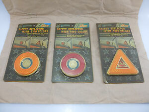 Old Classic Car Old Classic Vintage Safety Reflector Exterior Trim Nos