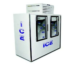 Fogel Icb 2 l gl Indoor Ice Merchandiser Bagged Ice 85 Cu Ft Capacity