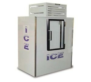 Fogel Icb 1 gl Indoor Ice Merchandiser Bagged Ice 47 Cu Ft Capacity