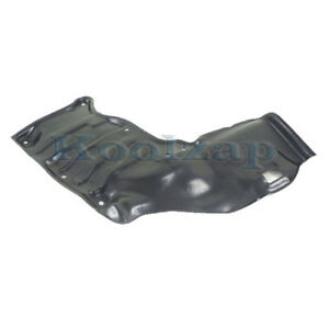 For 88 92 Corolla Front Engine Splash Shield Under Cover Guard Right To1228115