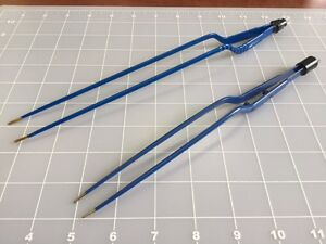 Esu Bayonet Forceps Miscellaneous lot Of 2
