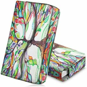 Pu Leather Business Card Holder Name Card Bag Wallet Case Organizer Love Tree