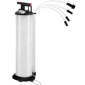 7 Liter Fluid Extractor Oil Changer Manual Hand Operated Vacuum Fluid Evacuator
