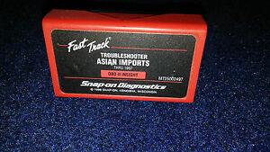 Snap On Mt2500 2497 Asian Troubleshooter Thru 1997