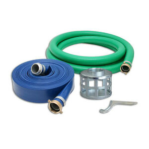 2 Pvc Water Suction Hose Kit