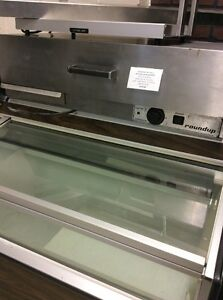 Roundup Hot Dog Drawer Warmer Model W A 35 A