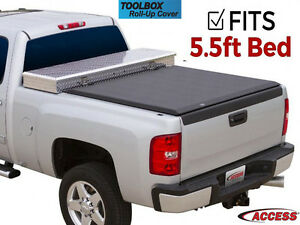 Access Toolbox Tonneau Truck Bed Cover 2004 2014 Ford F150 5 5 Ft