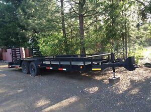 Trailer Heavy Equipment car Trailer
