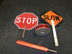 Construction Flagging Safety Materials signs Tape Flags