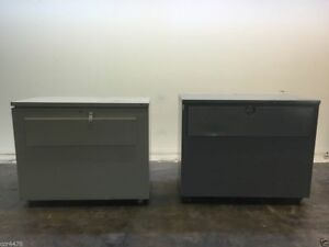 Ulrich And Vip 3000 Plan Filing Cabinets 2 On Casters