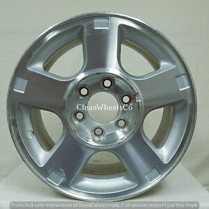 106b Used Aluminum Wheel 07 10 Ford Expedition 17x8