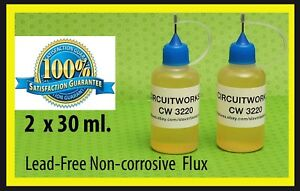 Circuitworks Cw3220 No Clean Soldering Liquid Flux Lead Free Usa Seller