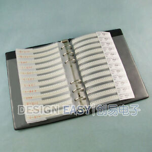 0402 Smd Capacitor Kit 80valuesx48pcs Smt Pack Box Book