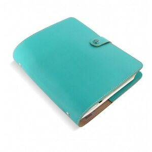 Filofax Original Organizer A5 Turquoise Leather Made In The Uk Ay 022600
