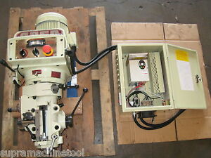 Bridgeport prototrak R 8 Mill E mill Head refurbished 7