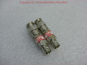 Lot Of Two Bnc 3db Attenuators 50 Ohm