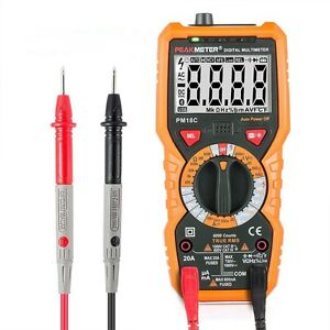 Lcd Auto Digital Multimeter Electronic Voltage Current Tester Ac dc Ncv Meter