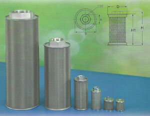 Hydraulic Suction Line Filters w Type Sfw 10 1 1 4 Pt
