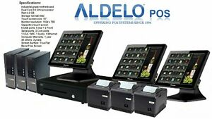 Aldelo Pos Approved And Activated Restaurants Pro Software 25 Gift Cards New