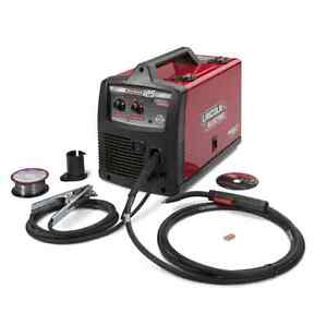 New 120 volt Flux cored Wire Feed Welder Welding Machine For Cut Weld Braze