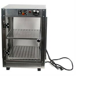 New Commercial Food Warmer Pizza Pastry Hot Countertop Display Case 14x14x20