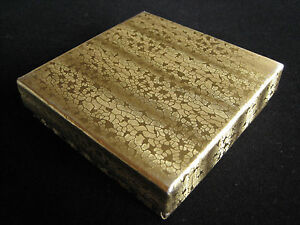 Jewelry Boxes Gold 100 33 Cotton Filled Gift Retail Lidded 3 X 3 X 1 H
