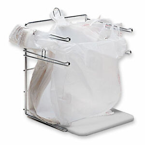 T shirt Bag Holder Bagging Stand Rack Metal Supermarket Grocery Checkout Fixture