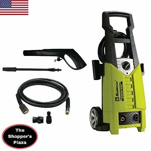 Electric Water Pressure Washer Information On Purchasing