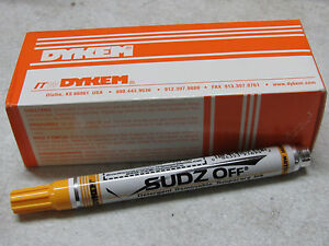 14 New Dykem 91694 Yellow Sudz Off Detergent Removable Ink Temporary Markers