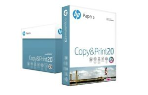 Hp Paper Everyday Copy And Print Poly Wrap 20lb 8 5 X 11 Letter 92 Bright 2400