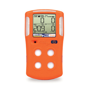 Gas Clip Technologies Mgc s 4 gas Monitor h2s o2 co Lel 2 Years Run Time