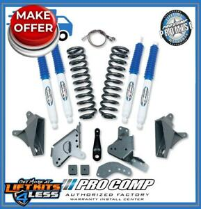 Pro Comp K4071b 4 Lift Stage I W Rear Blocks Es Shocks For 1980 1989 F 150 4wd