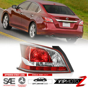Fit 2013 2015 Nissan Altima Sedan Driver Side Left Tail Light Red Lamp Assembly