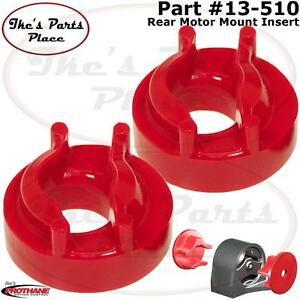 Prothane 13 510 Rear Motor Mount Insert Kit 00 05 Eclipse 4cyl Manual Trans
